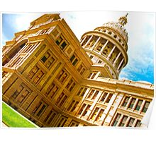 Texas State Capital Poster