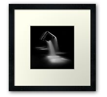Tears in the city ... Framed Print