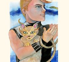 """Snake Cat"" by Laura J. Holman"