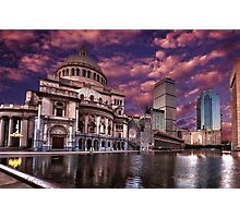 The First Church of Christ, Scientist Photographic Print