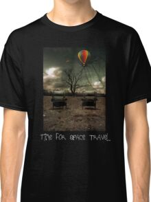 Time For Space Travel Shirt Classic T-Shirt