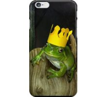 King Voigt on his Log Throne! iPhone Case/Skin