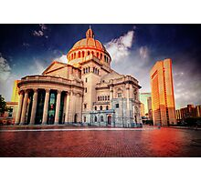 Christian Science Church Photographic Print