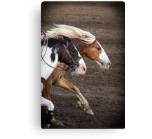 The Outlaw and The Law Canvas Print