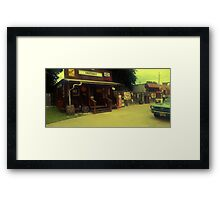 Randy's Shed Framed Print