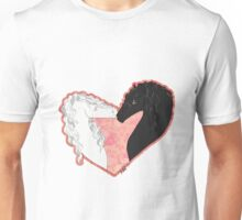 Swan and the Shadow Unisex T-Shirt
