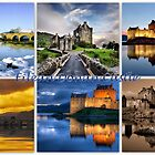 Eilean Donan Castle through the seasons by ©The Creative  Minds