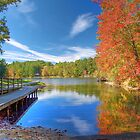 Fall Reflection on Mirror Lake by ECH52