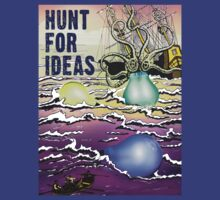 Hunt For Ideas T-Shirt by robertemerald