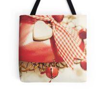 Vintage Christmas 5x7 Tote Bag