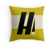 Hyperion Heroism Yellow Throw Pillow