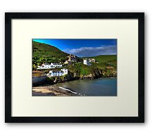 Port Isaac Harbour view Framed Print