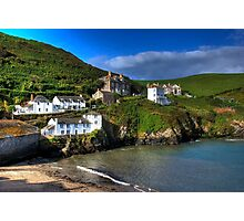 Port Isaac Harbour view Photographic Print