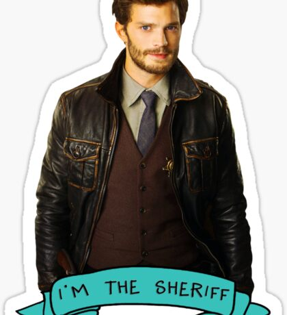I'm the Sheriff Sticker