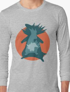 Cyndaquil - Quilava - Typhlosion Long Sleeve T-Shirt