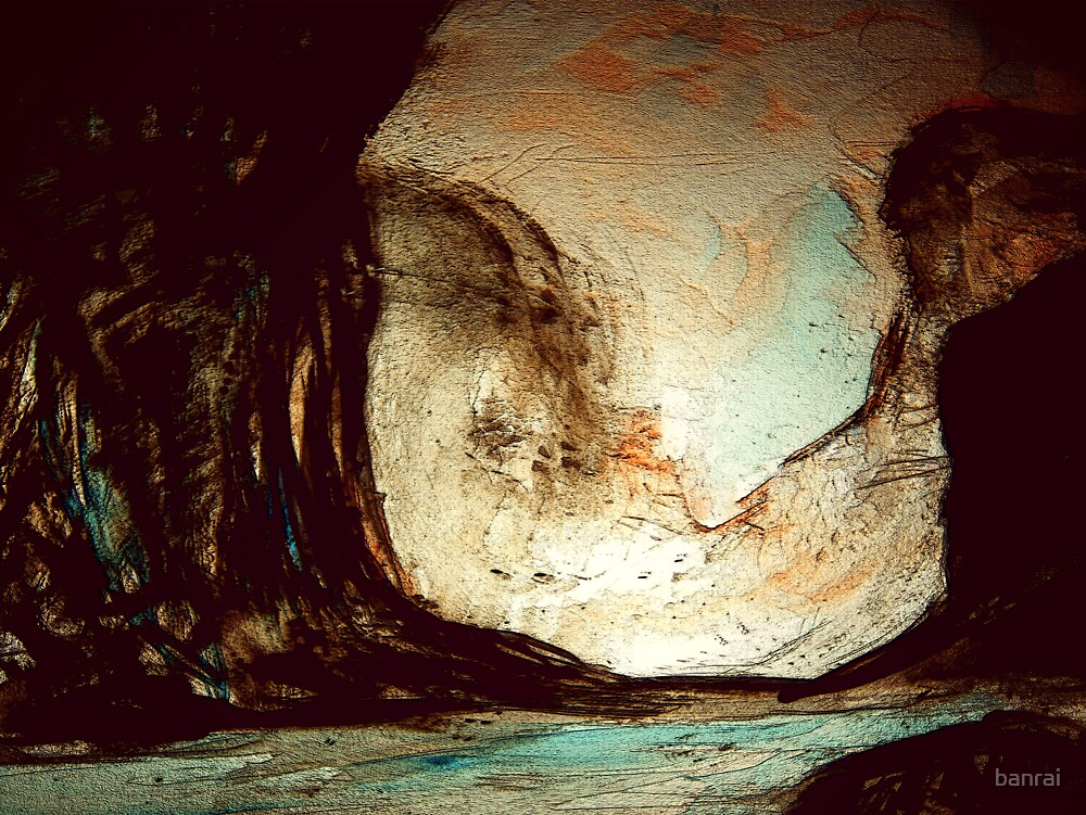 during the darkest of times.... a dream inside a cave by banrai
