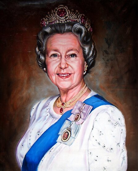 Queen Elizabeth II by Hidemi Tada