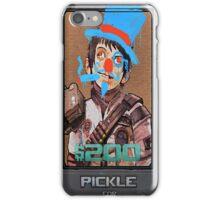 Pickle Defaced iPhone Case/Skin