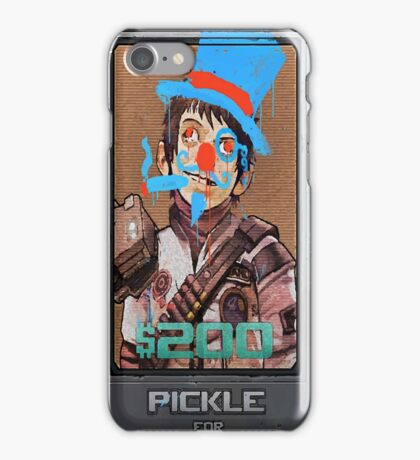 Pickle Defaced iPhone Case/Skin