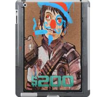 Pickle Defaced iPad Case/Skin
