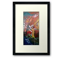 ABSTRACT 9-11 Framed Print