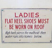 No High Heels! by JodieT