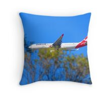 For the Plane Lover Throw Pillow