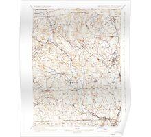 Massachusetts  USGS Historical Topo Map MA Blackstone 352482 1900 62500 Poster
