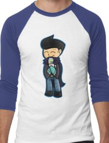 Winter Wilbur Men's Baseball ¾ T-Shirt