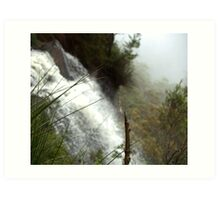 Canyon Falls Art Print