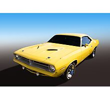 Plymouth Muscle Photographic Print