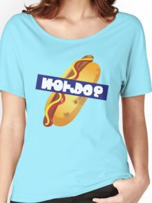 Splatoon SquidForce Splatfest Hot Dogs with Text Women's Relaxed Fit T-Shirt