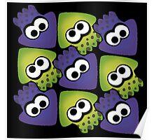 Splatoon Squids Poster