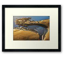 """sandy""    Framed Print"
