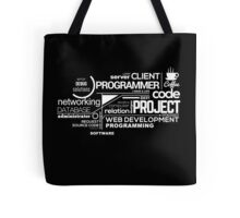 Programmer : Typography Programming - 2 Tote Bag