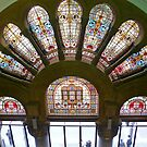 QVB Stained Glass Window by TonyCrehan