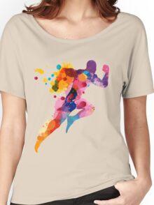 Running Man Women's Relaxed Fit T-Shirt
