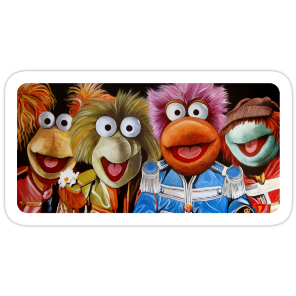 Fraggle Rock Band by James Hance