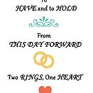 To Have & To Hold Wedding Card by CreativeEm