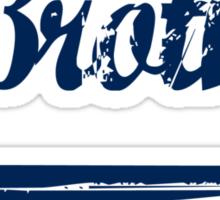 Brotha Blue [-0-] Sticker