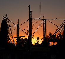 Prawn fleet dawn 2......... Tweed Heads by BK Photography