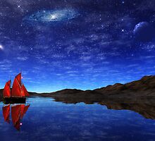 Beneath a jewelled sky by John Edwards