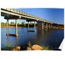 Bridge over Robe River Poster