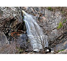 Tyred of Waterfall Pictures? Photographic Print