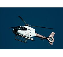 Helicopter ride Photographic Print