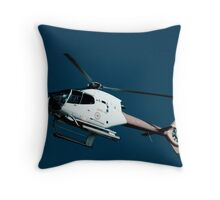 Helicopter ride Throw Pillow