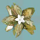 Flower Fantasy by Deborah  Benoit