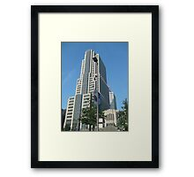 NBC tower Framed Print