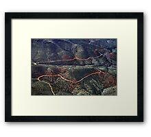 Arizona: Desert Road Framed Print