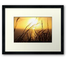 Forgotten photos and Cape Town sunsets Framed Print